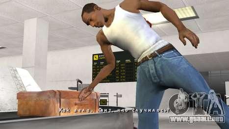 Fuente nueva V.3 para GTA San Andreas para GTA San Andreas quinta pantalla