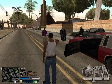 C-HUD By Stafford para GTA San Andreas tercera pantalla