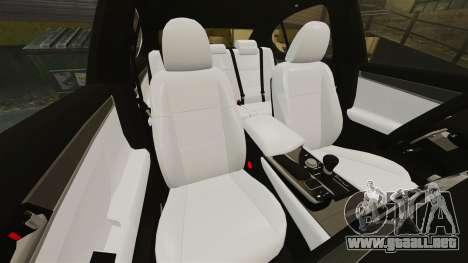 Lexus GS 300h para GTA 4 vista lateral