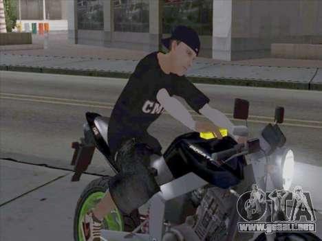 La piel de los trabajadores de los medios para GTA San Andreas segunda pantalla