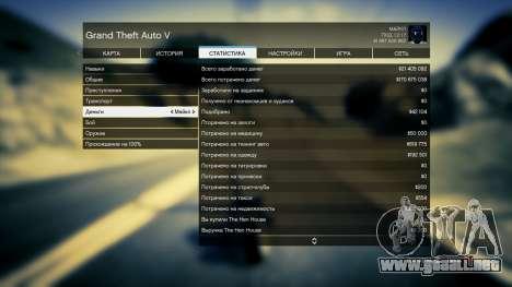 GTA 5 Guardar GTA 5 100% y más de 1 mil millones de PS tercera captura de pantalla
