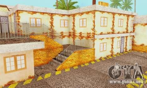 La nueva textura pizzerías y comodidades a Engañ para GTA San Andreas twelth pantalla