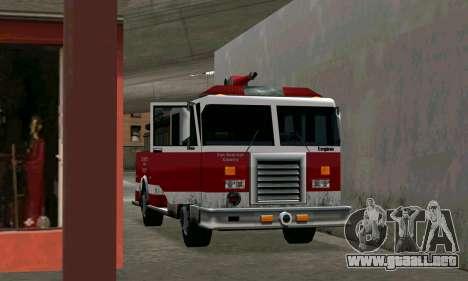 Realista de la estación de bomberos de Los Santo para GTA San Andreas