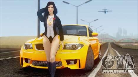 BMW 1M 2011 para GTA San Andreas vista hacia atrás