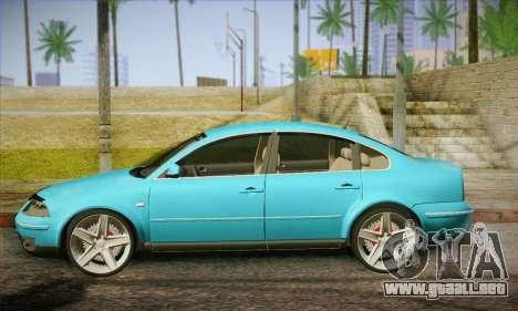 Volkswagen Passat para GTA San Andreas left