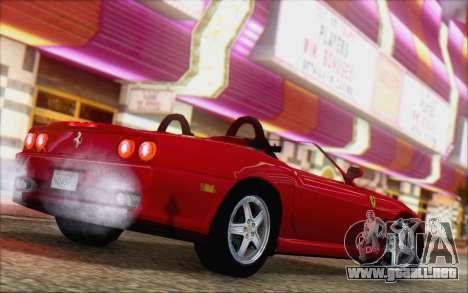 Ferrari 550 Barchetta para GTA San Andreas left