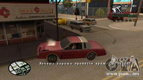 Fuente nueva V.3 para GTA San Andreas para GTA San Andreas segunda pantalla
