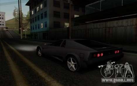 Cheetah v2 para la visión correcta GTA San Andreas