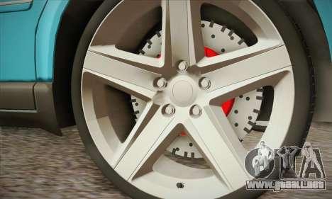 Volkswagen Passat para la visión correcta GTA San Andreas