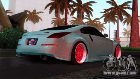 Nissan 350Z Minty Fresh para GTA San Andreas interior