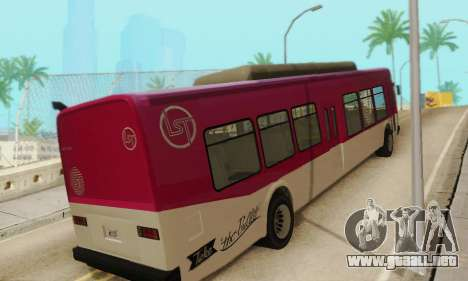 El Autobús de transporte из GTA 5 para la visión correcta GTA San Andreas