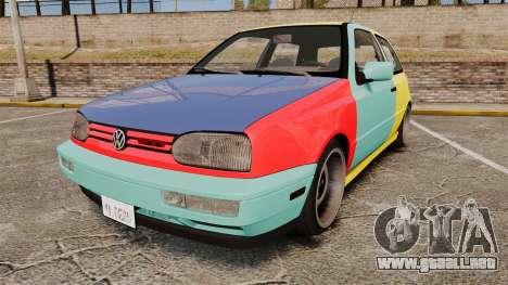 Volkswagen Golf MK3 Harlequin para GTA 4