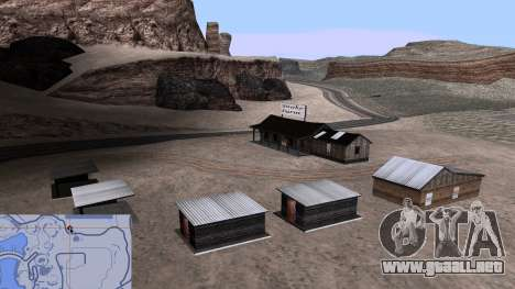 Actualizado granja de serpientes para GTA San Andreas sucesivamente de pantalla