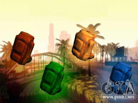 En la mochila de el Estado de Descomposición para GTA San Andreas