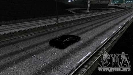 New Roads v2.0 para GTA San Andreas quinta pantalla