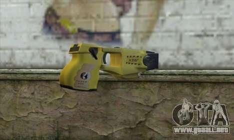 Taser Gun para GTA San Andreas segunda pantalla