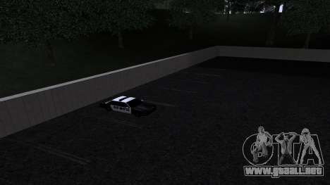 Nuevas texturas de la policía de san francisco para GTA San Andreas quinta pantalla