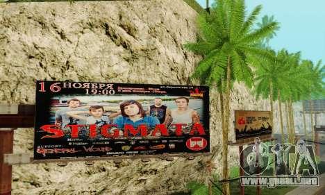 Alternativa Trimestre para GTA San Andreas quinta pantalla