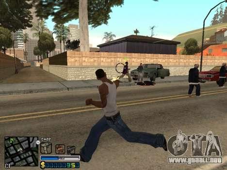 C-HUD By Stafford para GTA San Andreas sexta pantalla