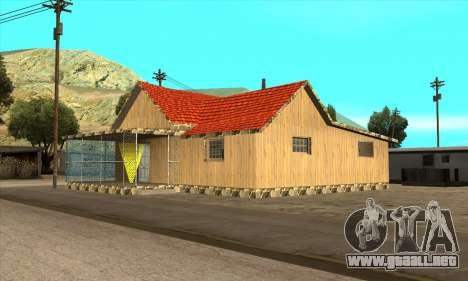 Casa nueva de Sijia en El Quebrados v1.0 para GTA San Andreas
