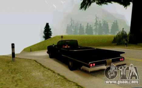 Voodoo Convertible (versión con faros) para GTA San Andreas left