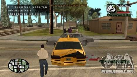 Fuente nueva V.3 para GTA San Andreas para GTA San Andreas octavo de pantalla
