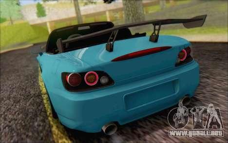 Honda S2000, Turquía para visión interna GTA San Andreas