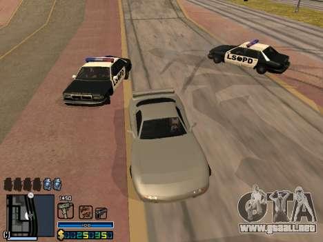 C-HUD By Stafford para GTA San Andreas décimo de pantalla