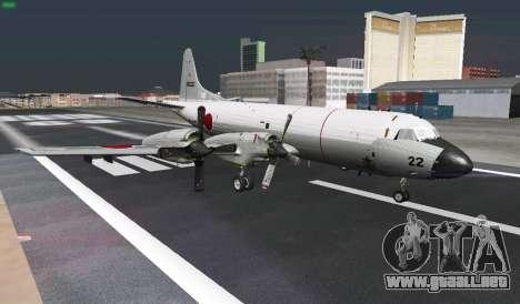Lockheed P-3 Orion FAJ para la vista superior GTA San Andreas