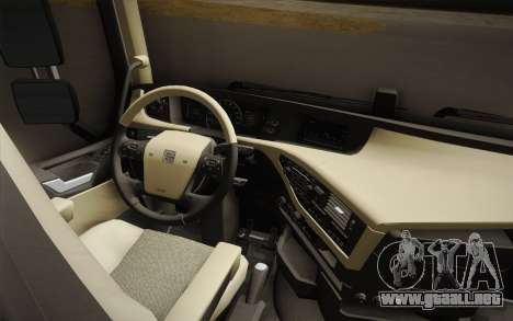 Volvo FH 750 2014 para visión interna GTA San Andreas