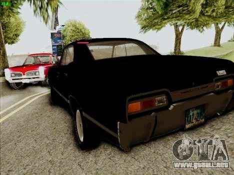 Chevrolet Impala SS 1967 Hardtop Sedan 396 para la visión correcta GTA San Andreas