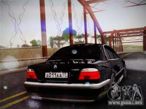 BMW 730d E38 1999 para GTA San Andreas left