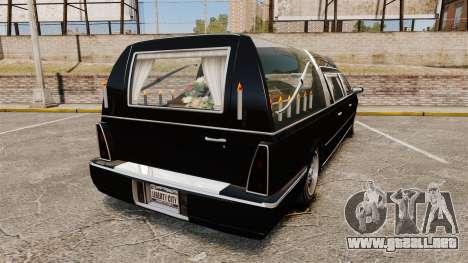 Albany Romero new wheels para GTA 4 Vista posterior izquierda
