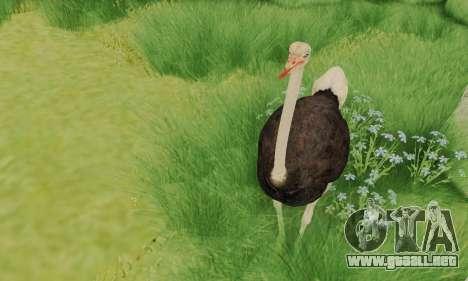 Ostrich From Goat Simulator para GTA San Andreas tercera pantalla