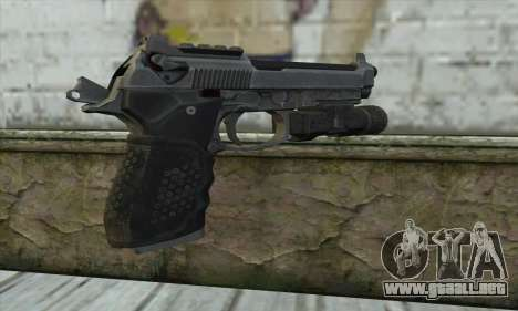 M9A1 From COD: Ghosts para GTA San Andreas segunda pantalla