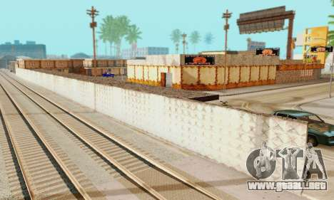 La nueva textura pizzerías y comodidades a Engañ para GTA San Andreas sexta pantalla