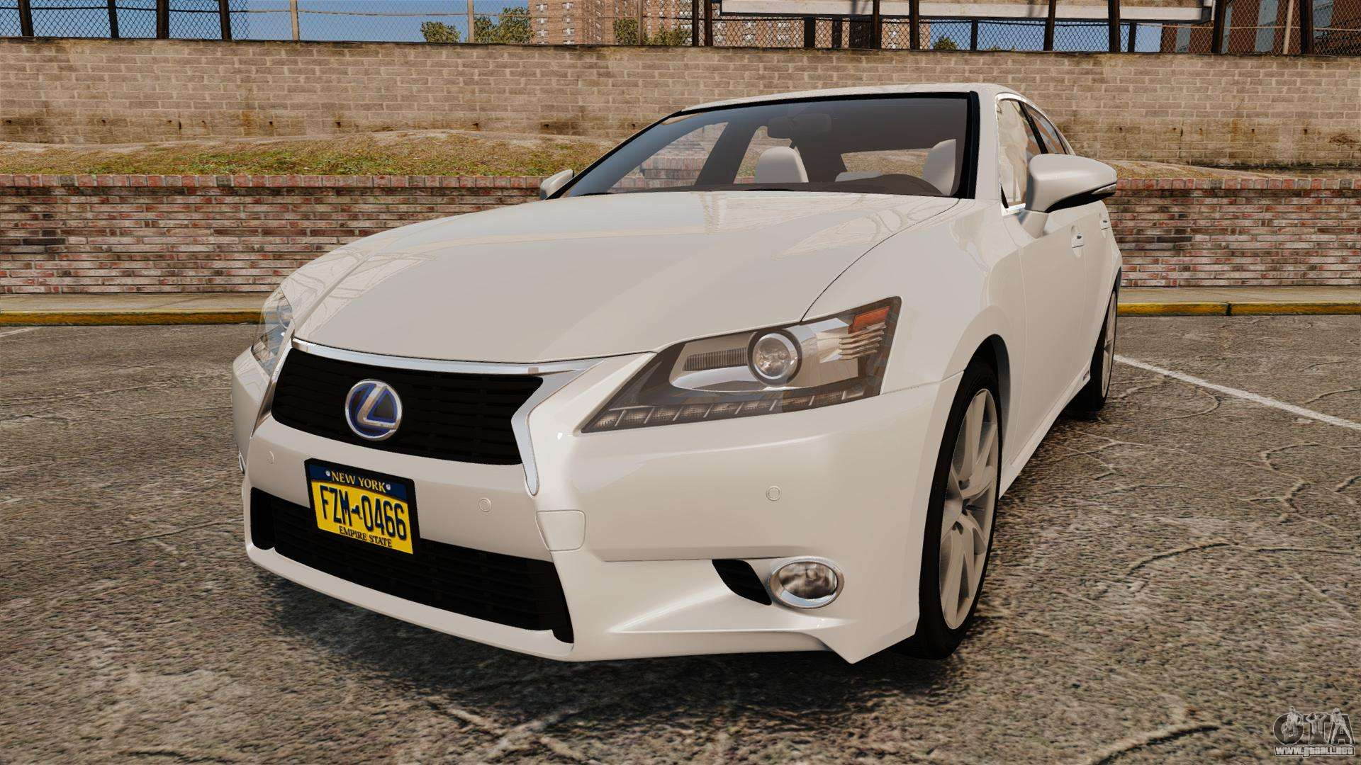 lexus gs 300h para gta 4. Black Bedroom Furniture Sets. Home Design Ideas