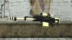 Golden Sniper Rifle para GTA San Andreas