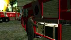 Realista de la estación de bomberos en Las Venturas para GTA San Andreas