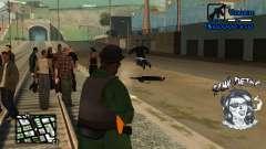 C-HUD Tawi Detka para GTA San Andreas