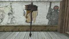 El hacha de Skyrim