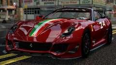Ferrari 599xx Evoluzione para GTA 4