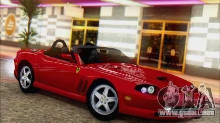 Ferrari 550 Barchetta para GTA San Andreas