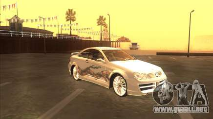 Mercedes CLK 500 из NFS most Wanted para GTA San Andreas