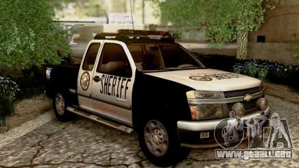 Chevrolet Colorado Sheriff para GTA San Andreas