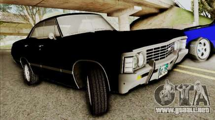 Chevrolet Impala SS 1967 Hardtop Sedan 396 para GTA San Andreas