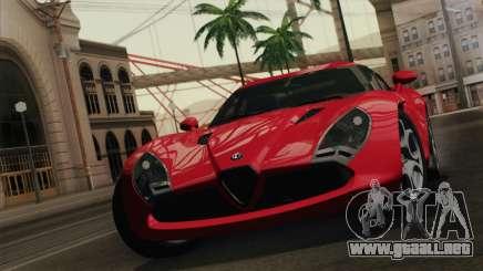 Alfa Romeo Zagato TZ3 2012 para GTA San Andreas