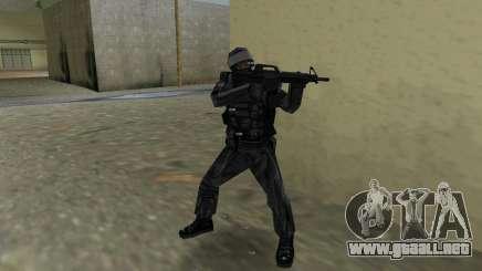 Luchador de Spetsnaz ruso de CS:CZ para GTA Vice City