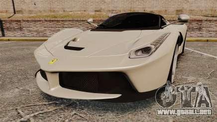 Ferrari LaFerrari Spider v2.0 para GTA 4