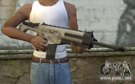 ARX-160 Rifle de Asalto из BACALAO Fantasmas para GTA San Andreas tercera pantalla